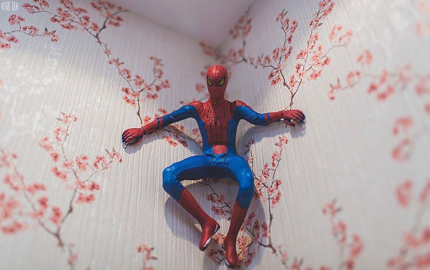 Superman egy pók ember egyedülálló